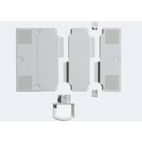 Erweiterungsplatten 2St grau NOVUS 795+0902+000 Produktbild Einzelbild 1 XL