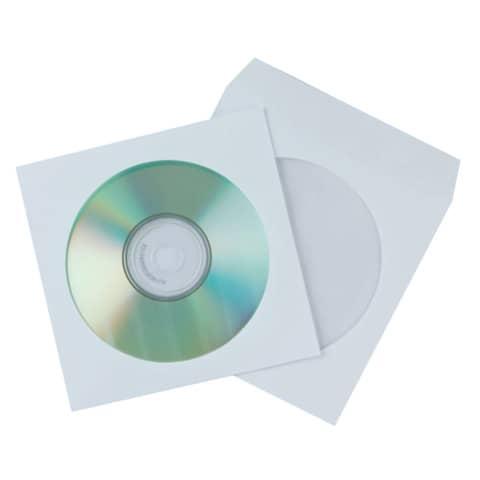 CD Hüllen Papier 50ST Q-CONNECT KF02206 Produktbild