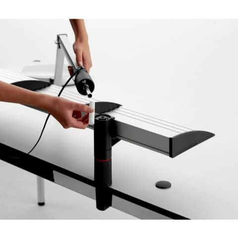 Ablagebord 1er lichtgrau NOVUS NV7500502000 Produktbild Anwendungsdarstellung 1 XL