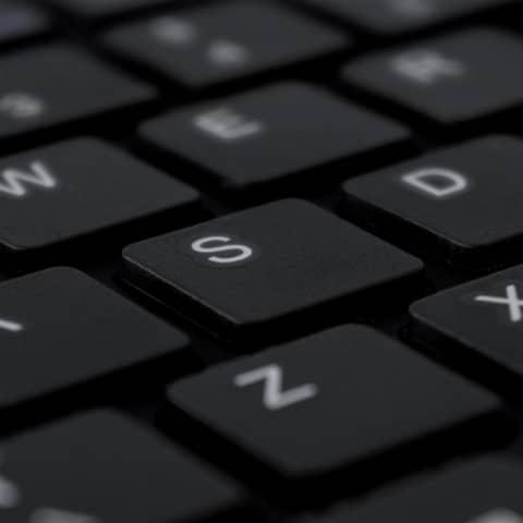 Tastatur Split Keyboard DE schwarz R-GO RGOSP-DEWIBL Produktbild Detaildarstellung XL