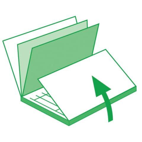 Kurzbrief 2/3 A4, 50 Blatt SIGEL SD009 selbstdurchschreibend Produktbild Anwendungsdarstellung XL