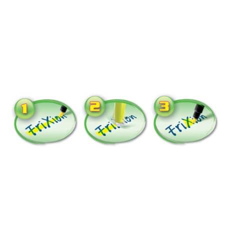 Textmarker Frixion Light gelb PILOT 4136005 SW-FL-Y Produktbild Anwendungsdarstellung XL