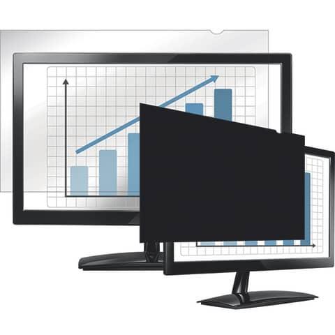 """Bildschirmfilter 24"""" schwarz FELLOWES FW4801601 16:10 Produktbild Einzelbild 5 XL"""