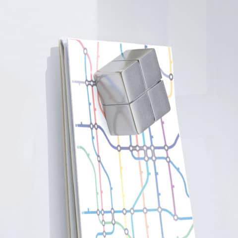 Magnettafel 100x100cm weiß SIGEL GL201 artverumXL Produktbild Detaildarstellung 3 XL