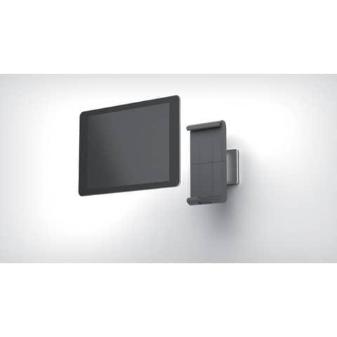 Tablethalter Wall silber DURABLE 8933 23 Wandmodell Produktbild Einzelbild 1 XL