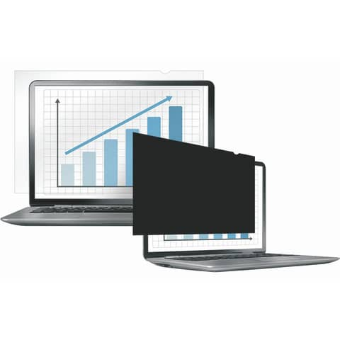 """Bildschirmfilter 24"""" schwarz FELLOWES FW4801601 16:10 Produktbild Einzelbild 6 XL"""