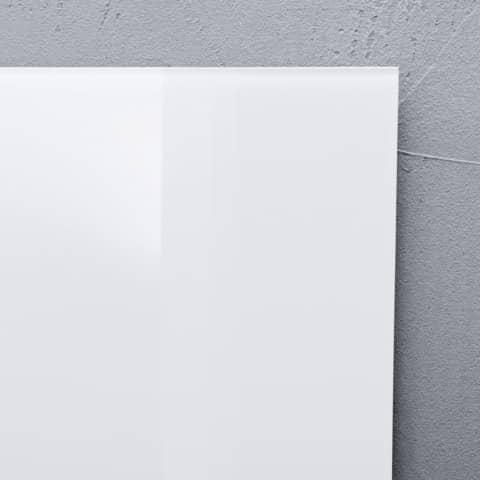 Magnettafel 100x100cm weiß SIGEL GL201 artverumXL Produktbild Detaildarstellung 4 XL