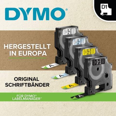 Schriftband 12mmx7m schw/weiß DYMO S0720530 45013 Produktbild Anwendungsdarstellung 1 XL