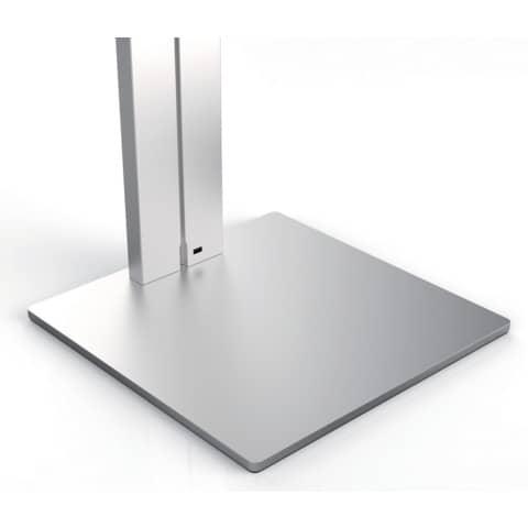 Tablethalter Floor silber DURABLE 8932-23 Bodenständer Produktbild Detaildarstellung 2 XL