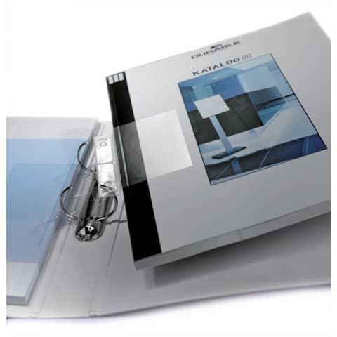 Abheftstreifen 10 Stück DURABLE 8069 19 Maxi Produktbild Detaildarstellung XL
