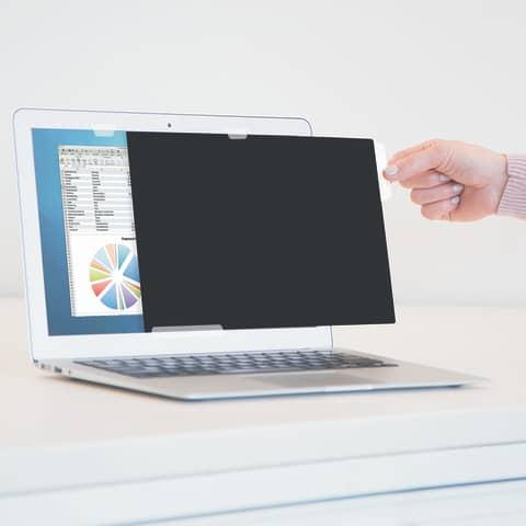 """Bildschirmfilter 24"""" schwarz FELLOWES FW4801601 16:10 Produktbild Anwendungsdarstellung 3 XL"""