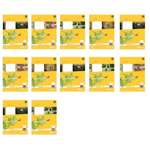 Heft A4 32BL Lin1 URSUS BASIC 040432001 80g Produktbild Stammartikelabbildung XL