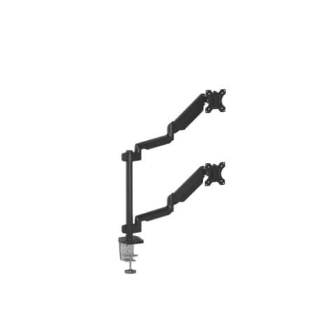 Bildschirmträger Doppelarm schwarz FELLOWES FW8043401 Produktbild Einzelbild 2 XL