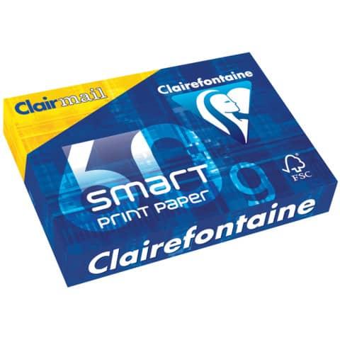 Kopierpapier 500Bl 60g h.weiß CLAIRFONTAINE 22306010001 A4 Produktbild