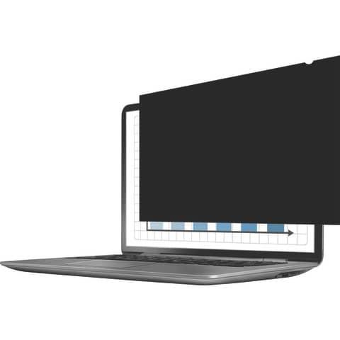 """Bildschirmfilter 24"""" schwarz FELLOWES FW4801601 16:10 Produktbild Einzelbild 4 XL"""