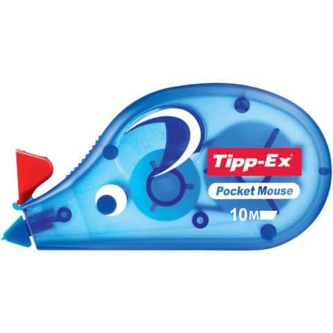 Korrekturroller Maus Pocket 4,2mm 10m TIPP EX 8221362/8221361 eingeschweißt Produktbild