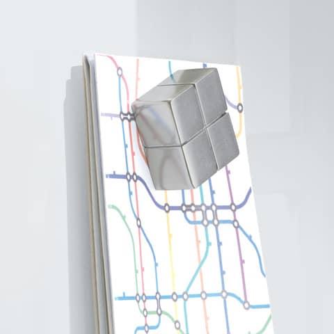 Magnettafel 100x100cm weiß SIGEL GL201 artverumXL Produktbild Detaildarstellung 2 XL
