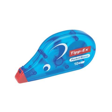 Korrekturroller Maus Pocket 4,2mm 10m TIPP EX 8221362/8221361 eingeschweißt Produktbild Einzelbild 2 XL