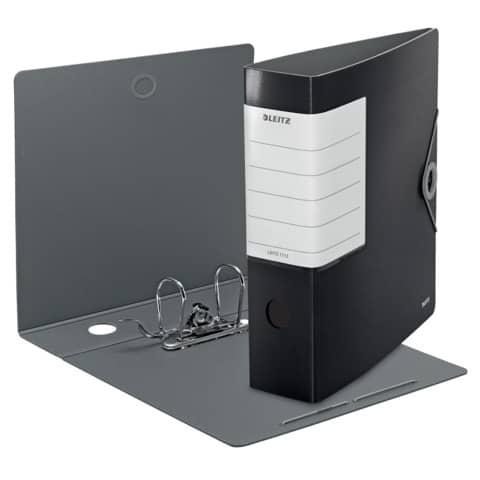 Ordner Solid A4 8cm schwarz LEITZ 1112-00-95 Produktbild Einzelbild 2 XL