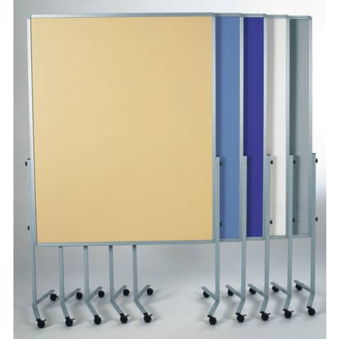 Moderatorentafel grau 120x150 cm LEGAMASTER 7-204500 Filzbezug Produktbild