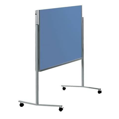 Moderatorentafel blau/grau LEGAMASTER 2052 00 Filzbezug Produktbild Einzelbild 2 XL