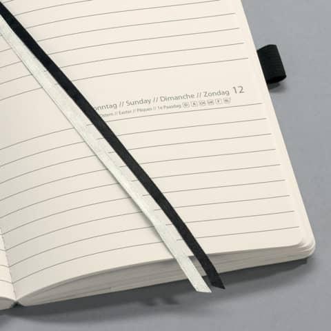 Buchkalender 2020 A6 schwarz SIGEL C2021 CONCEPTUM Produktbild Einzelbild 8 XL