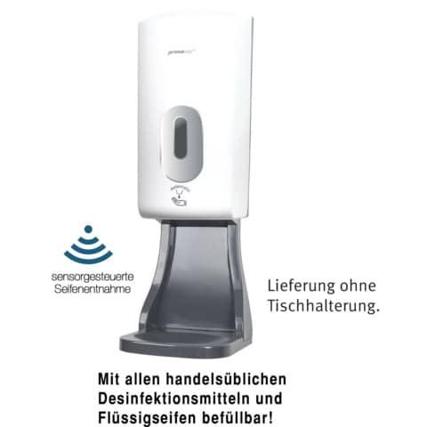 Desinfektionsmittelspender weiß/grau PRIMASoft 090312 Sensor Produktbild