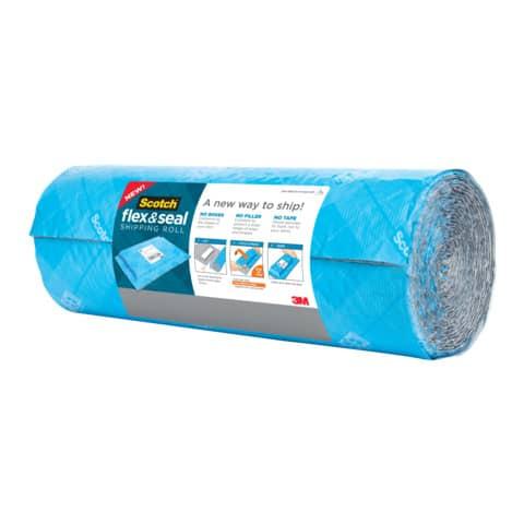 Verpackungsband Flex&Seal hellblau SCOTCH FS-1520 381mm x 6,09m Produktbild Einzelbild 2 XL