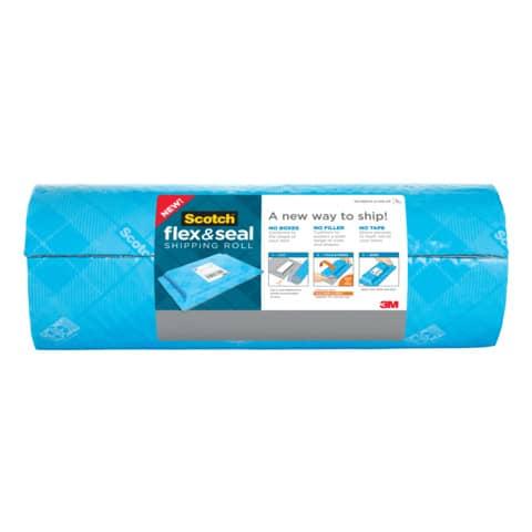 Verpackungsband Flex&Seal hellblau SCOTCH FS-1520 381mm x 6,09m Produktbild