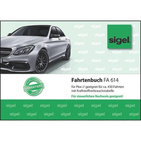 Fahrtenbuch PKW A6 40BL SIGEL FA614 A6q 40BL Produktbild