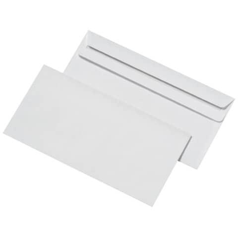 Briefhülle DIN lang selbstkl. weiß ELEPA 30006836, 72g 1000 Stück Produktbild