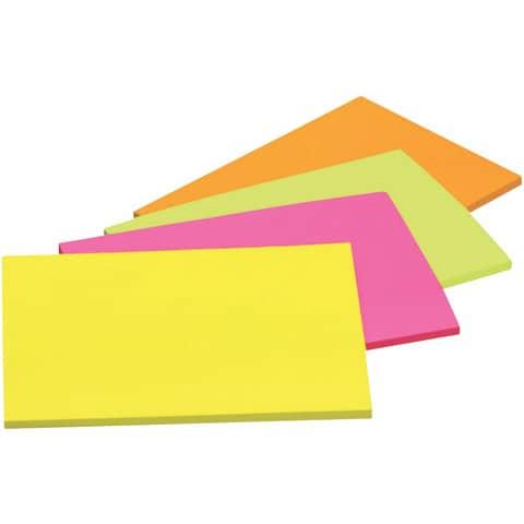 Haftnotizblock 149x98.4 Neonfarben POST IT 6445-SSP 45 Blatt 4 Stück Produktbild Einzelbild 3 XL