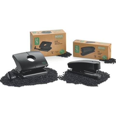 Locher B216 re+new schwarz NOVUS 025-0636 60-B216RENEW01 Produktbild Stammartikelabbildung XL