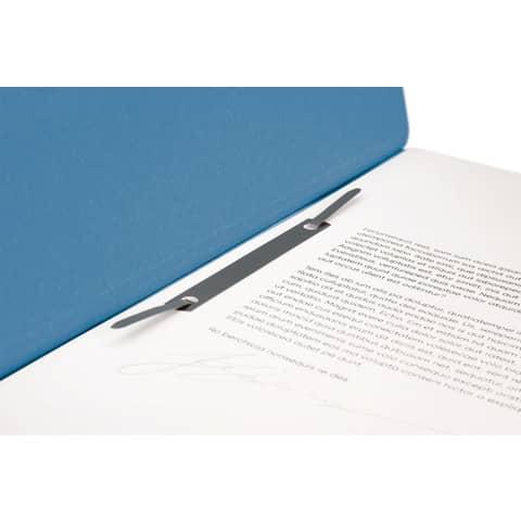 Ösenhefter A4 blau 1/2 Deckel FALKEN 80003809 Produktbild Detaildarstellung XL