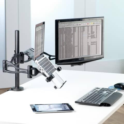 Halterung für Laptop FELLOWES FW8211901 Produktbild Anwendungsdarstellung XL
