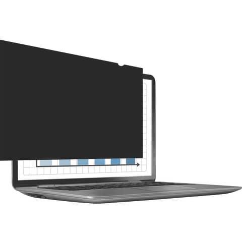 """Bildschirmfilter 24"""" schwarz FELLOWES FW4801601 16:10 Produktbild Einzelbild 3 XL"""