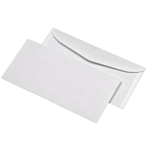 Briefhülle Komp. gum. 75g weiß ELEPA 30005468 1000ST 114x229mm Produktbild