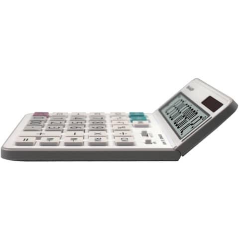 Tischrechner 12-stellig weiß SHARP SH-EL340W DualPower Produktbild Einzelbild 2 XL