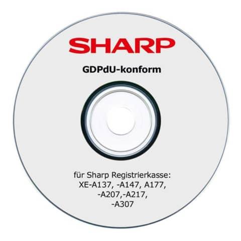 Konvertierungstool für Regist Kassen SHARP SH-XE-AGDPDU Produktbild Einzelbild 1 XL