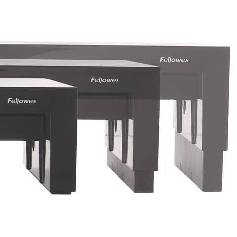 Bildschirmträger Designer Suites schwarz FELLOWES FW8038101 Produktbild Detaildarstellung XL