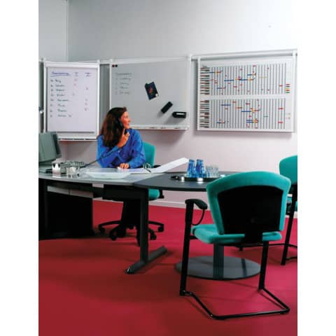 Jahresplaner 90x120cm 30Pers. LEGAMASTER 4060 00 profession Produktbild Anwendungsdarstellung 1 XL