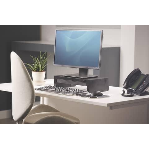 Bildschirmträger Designer Suites schwarz FELLOWES FW8038101 Produktbild Produktabbildung aufbereitet 2 XL