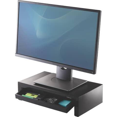 Bildschirmträger Designer Suites schwarz FELLOWES FW8038101 Produktbild Anwendungsdarstellung 2 XL