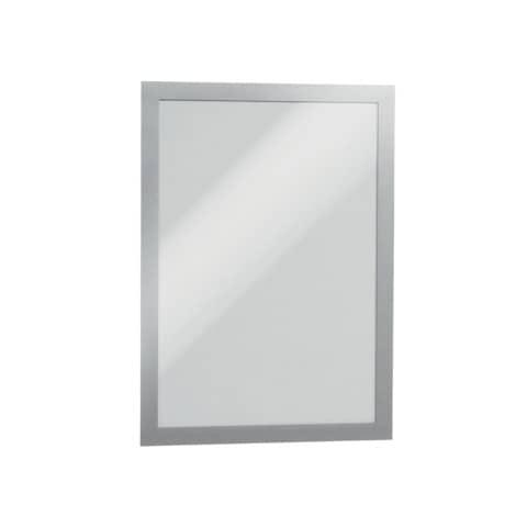 Magnetschilderrahmen A4 silber DURABLE 4872 23 Duraframe 2St Produktbild