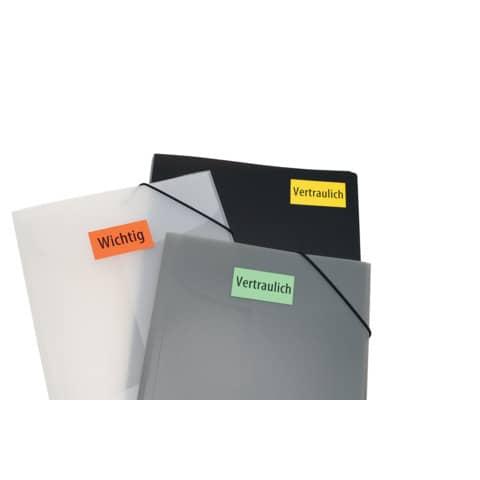 Universaletiketten 70x37 gelb HERMA 4406 100 Blatt Produktbild Anwendungsdarstellung 7 XL