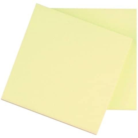 Haftnotizblock 76x76mm gelb Q-CONNECT KF10502 100Bl Produktbild Einzelbild 2 XL