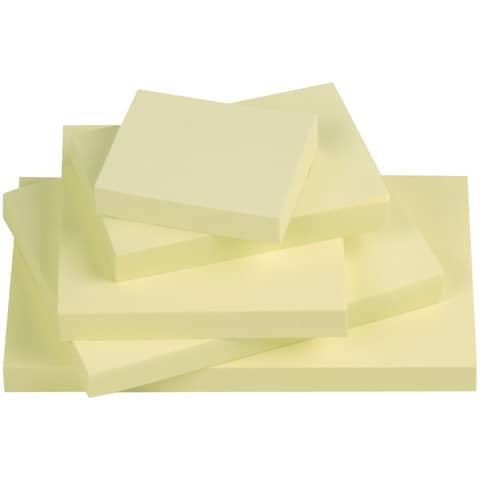 Haftnotizblock 76x102mm gelb Q-CONNECT KF01410, 100 Blatt Produktbild Stammartikelabbildung XL