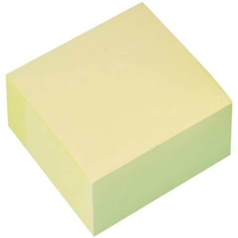 Haftnotizblock 76x76mm gelb Q-CONNECT KF01346 400BL Produktbild Einzelbild 2 XL