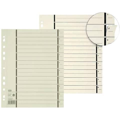 Trennblatt A4 chamois ELBA 400004672 100ST Produktbild Stammartikelabbildung XL