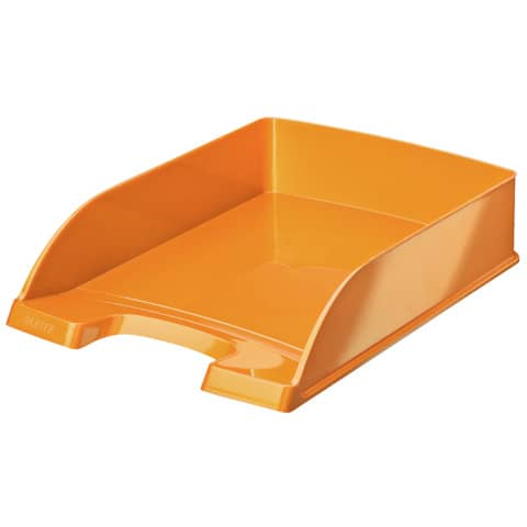 Briefkorb A4 Wow orange metallic LEITZ 5226-30-44 Produktbild
